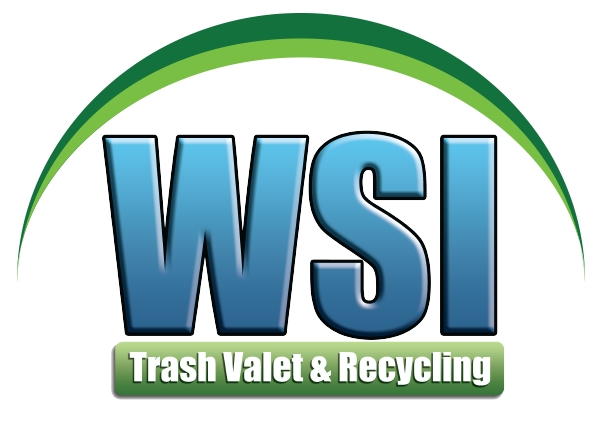 WSI Trash Valet & Recycling Logo